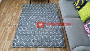 Karpet Lantai Katun - Curva Abu