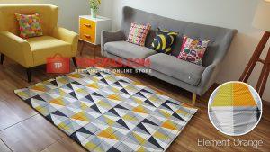 Karpet Katun Element Orange