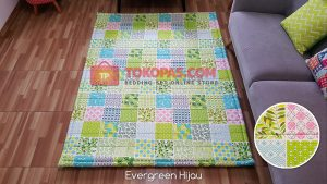Karpet Katun Evergreen Hijau