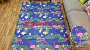 Karpet Katun Tropical Flamengo