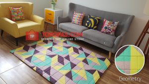 Karpet Katun Geometry