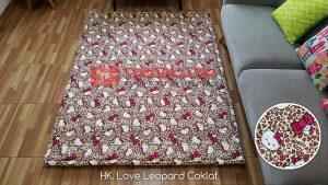 Karpet Katun HK. Love Leopard