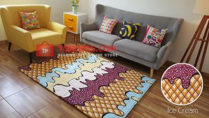 Karpet Katun Ice Cream