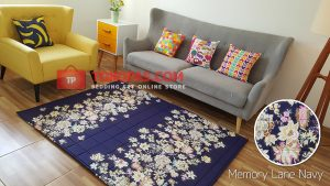 Karpet Katun Memory Lane Navy