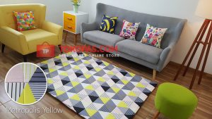 Karpet Katun Metropolis Yellow