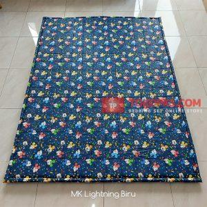 Karpet Lantai Katun - MK Lightning Biru