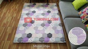Karpet Katun Mozaic Ungu