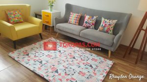 Karpet Katun Rhayden Orange