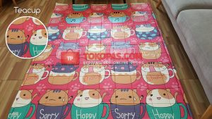 Karpet Katun Teacup