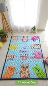 Karpet Anak Playmat All About Cats
