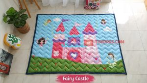 Karpet Anak Playmat Fairy Castle