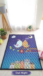 Karpet Anak Playmat Owl Night