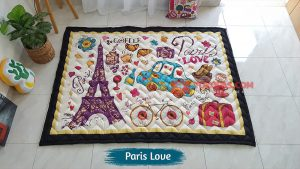 Karpet Anak Playmat Paris Love