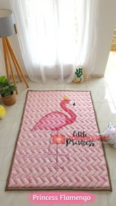 Karpet Anak Playmat Princess Flamengo