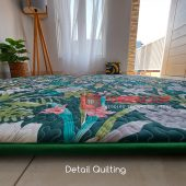 Karpet Lantai Quilting - Detail Samping