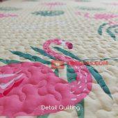 Karpet Lantai Quilting - Detail Quilting
