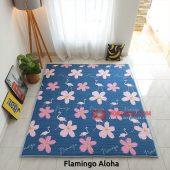 Karpet Lantai Quilting - Flamingo Aloha