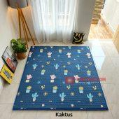 Karpet Lantai Quilting - Kaktus