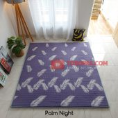 Karpet Lantai Quilting - Palm Night