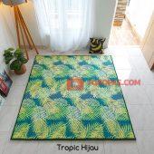 Karpet Lantai Quilting - Tropic Hijau