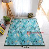 Karpet Lantai Quilting - Tropica