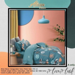 Sprei ALICIA Love Leaf