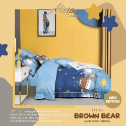 Sprei ALICIA Brown Bear