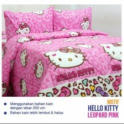 Sprei ESRA HK. Leopard Pink