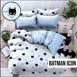 Sprei STAR Batman Icon Biru