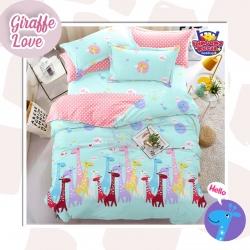 Sprei STAR Giraffe Love Toska