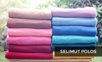 Selimut Flanel Polos